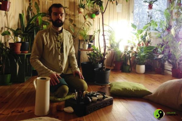 Wyjątkowa medytacja z relaksacją – ceremonia parzenia herbaty z Ivanem!