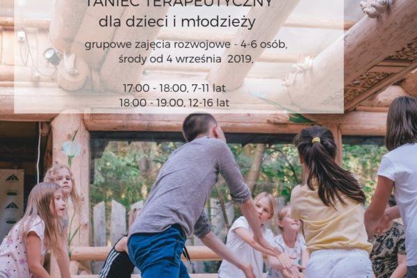 4.09 SPOTKANIE OTWARTE Taniec terapeutyczny – zajęcia rozwojowe dla dzieci i młodzieży