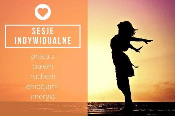 14.12 Sesje indywidualne: praca z ciałem, ruchem, emocjami i energią
