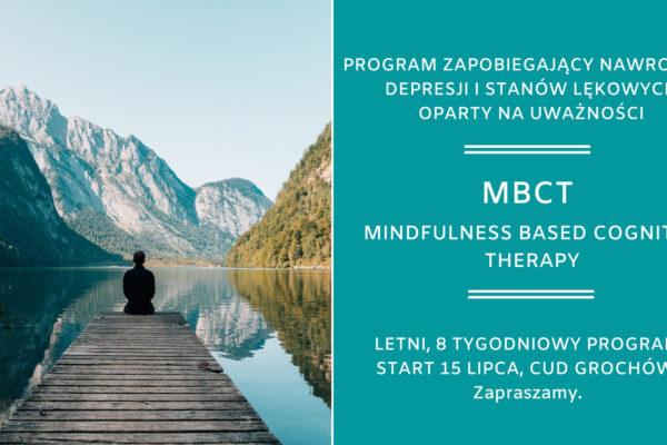 15.07 Letni program MBCT (Mindfulness Based Cognitive Therapy)